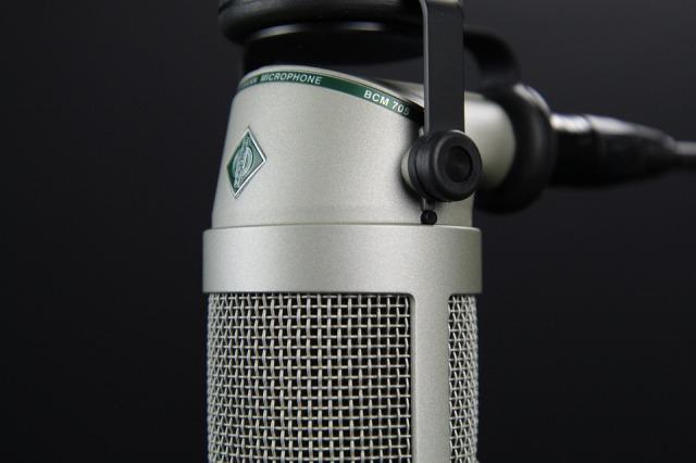 Speech Audio Radio Mic Microphone Broadcast